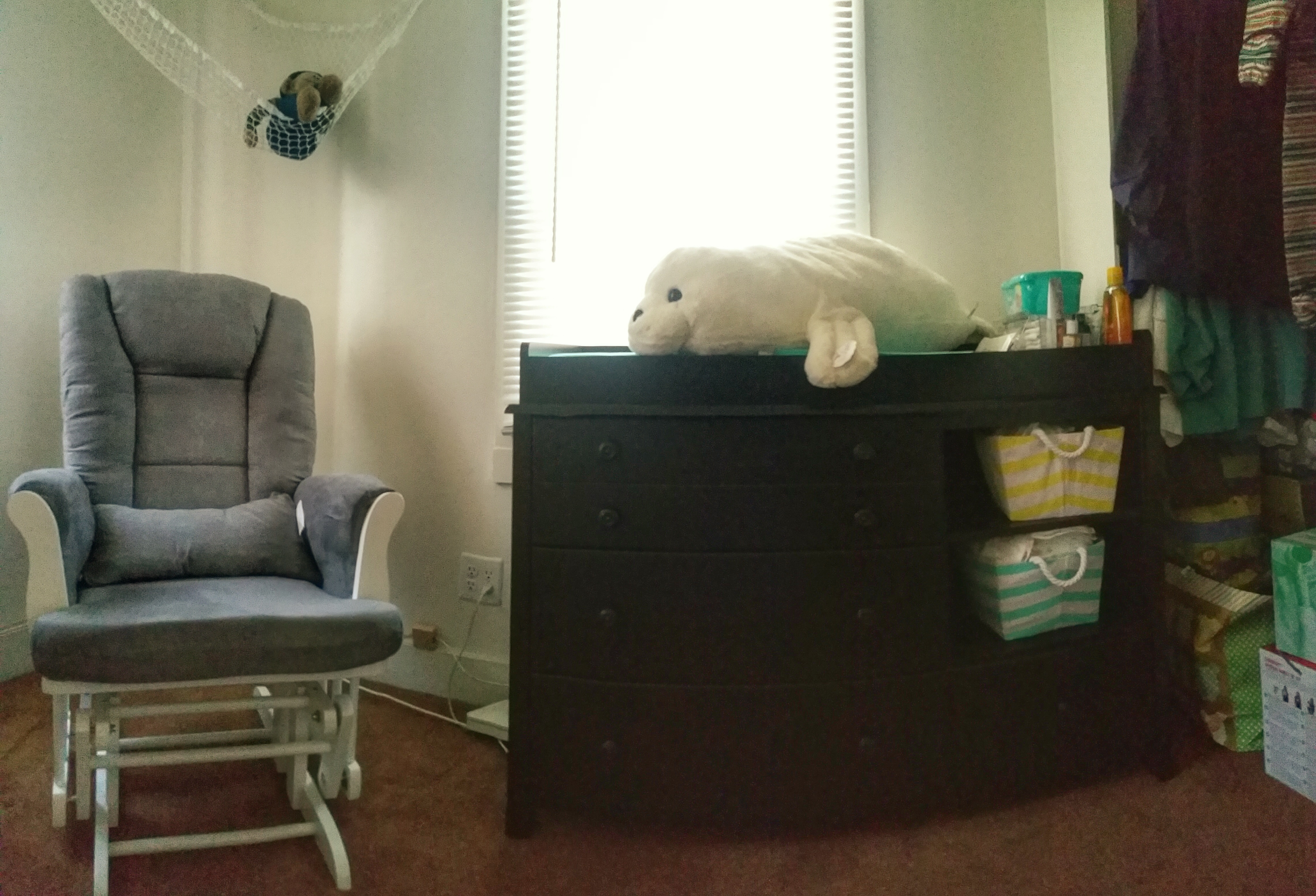 The babies room is coming together.