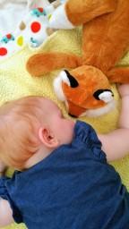 SHHHH….. Baby Sleeping